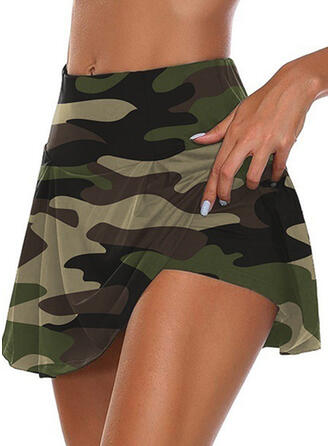Camouflage Casual Sporty Shorts