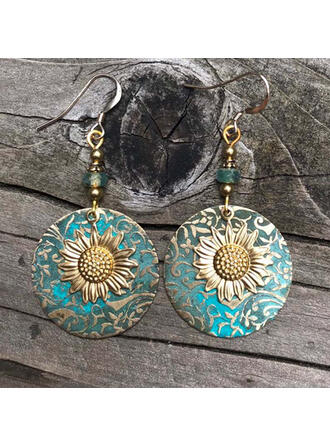 Attractive Charming Elegant Artistic Delicate Alloy With Minimalist Ladies' Earrings